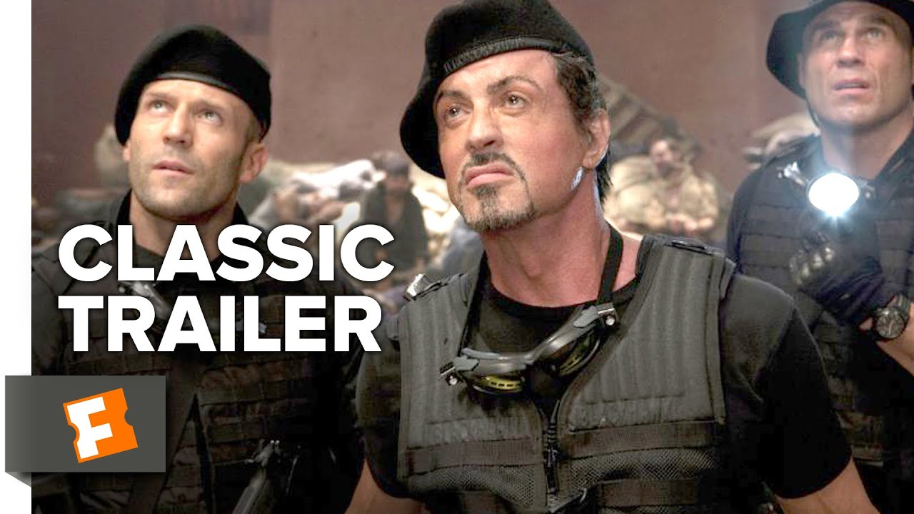 Download The Expendables (2010) - Official Trailer - Sylvester Stallone, Jason Statham Action Movie HD