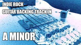 Indie Rock Guitar Backing Track In A Minor / C Major