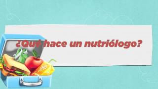 ¿Qué hace un nutriólogo?