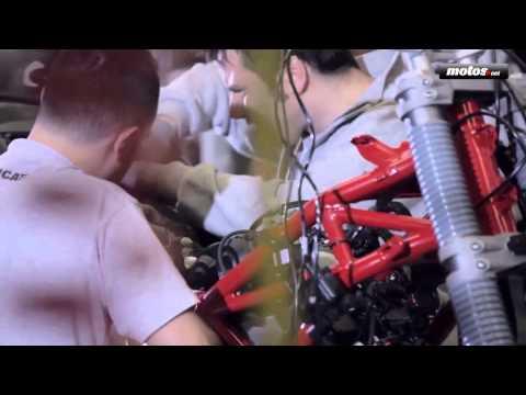 Así se fabrica la Ducati Multistrada 1200 de 2015