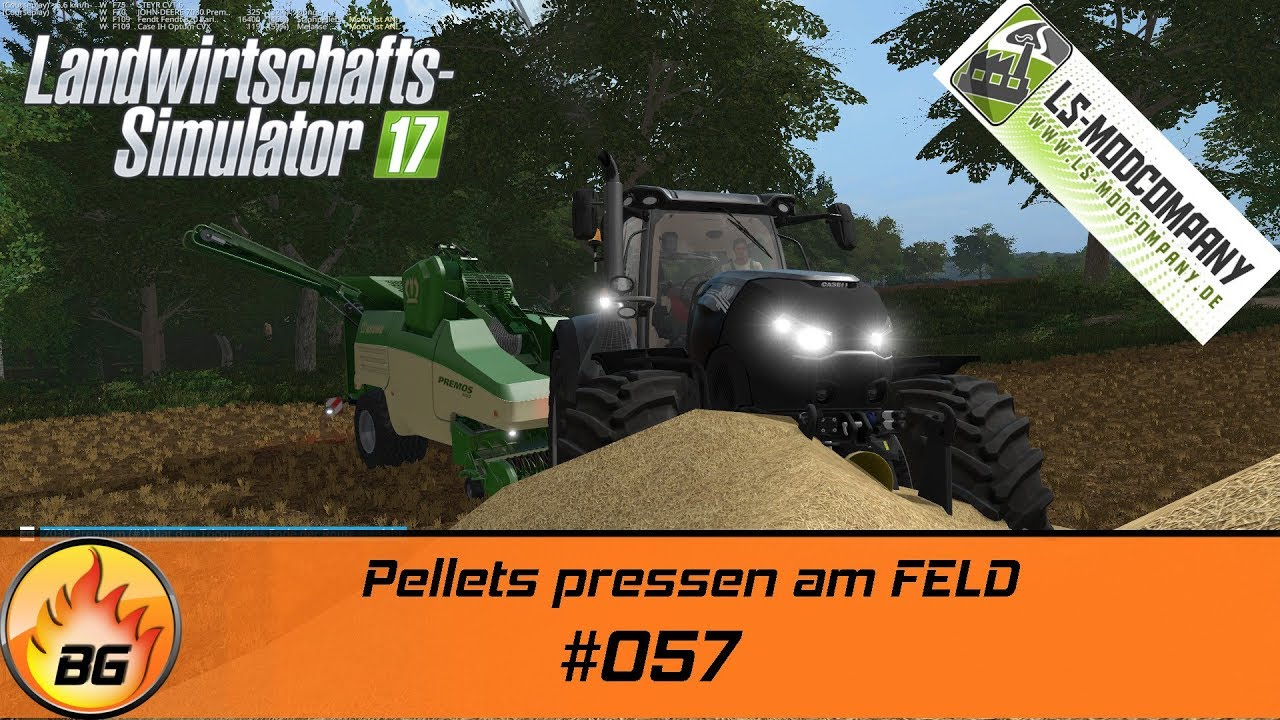 Lieblings LS17 - Stappenbach #057 | Pellets pressen am Feld | Let's Play [HD @GC_51