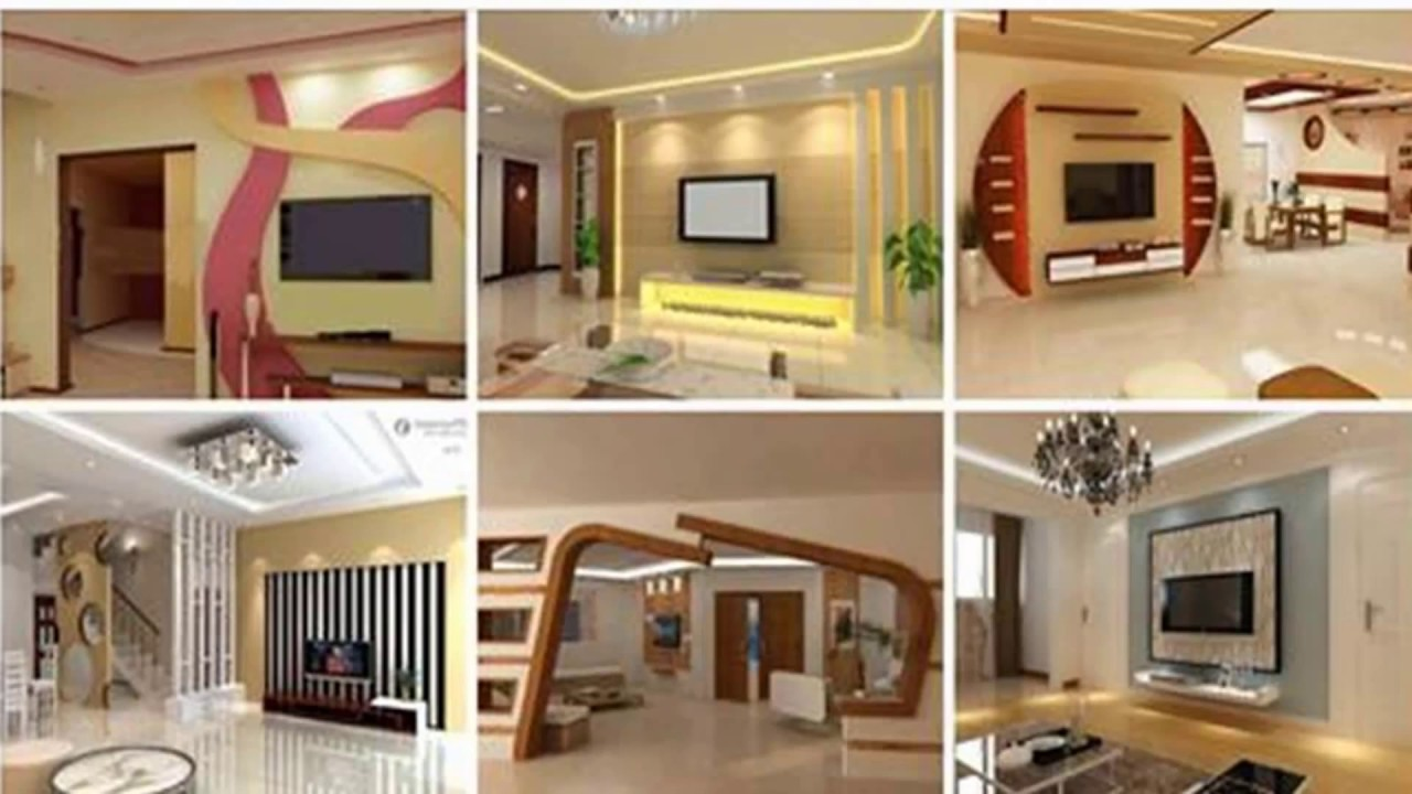 gypsum board for tv wall 12 ideas youtube. Black Bedroom Furniture Sets. Home Design Ideas
