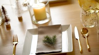 3 Holiday Tablescapes | ENTERTAINING WITH BETH