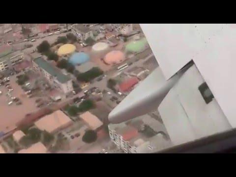 Landing in Luanda /Angola