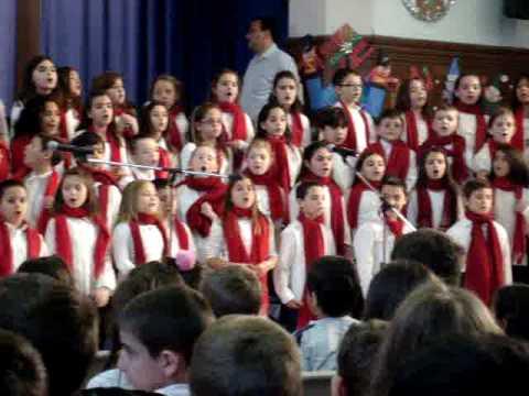 """Dreidle, Dreidle""- Polk Street School  Holiday Concert 2"