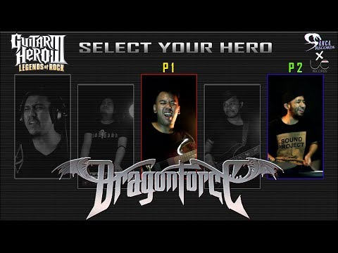 Dragon Force - Through The Fire And Flames (Guitar Hero III) Cover by Sanca Records ft. LC Records