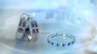Goldheart Jewelry Wedding Bands Collection: PURE BLUE™ - The mark of true love