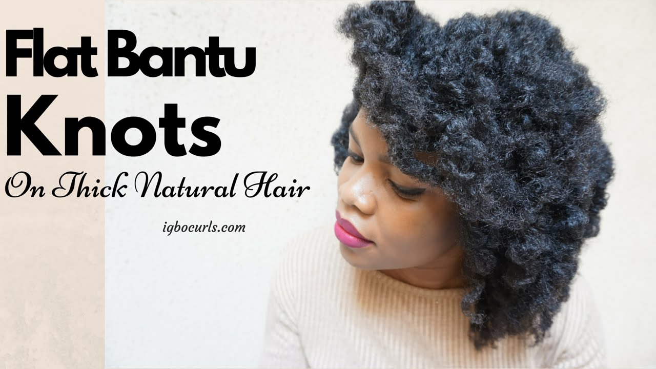 Youtube Bantu Knots On Natural Hair