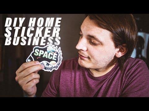 DIY Home Sticker Business