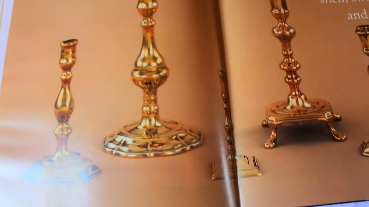 With old candlesticks to do what brass My Brass
