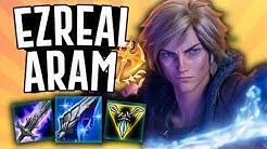 EZREAL POKE IS SO STRONG!! - Ezreal ARAM - League of Legends