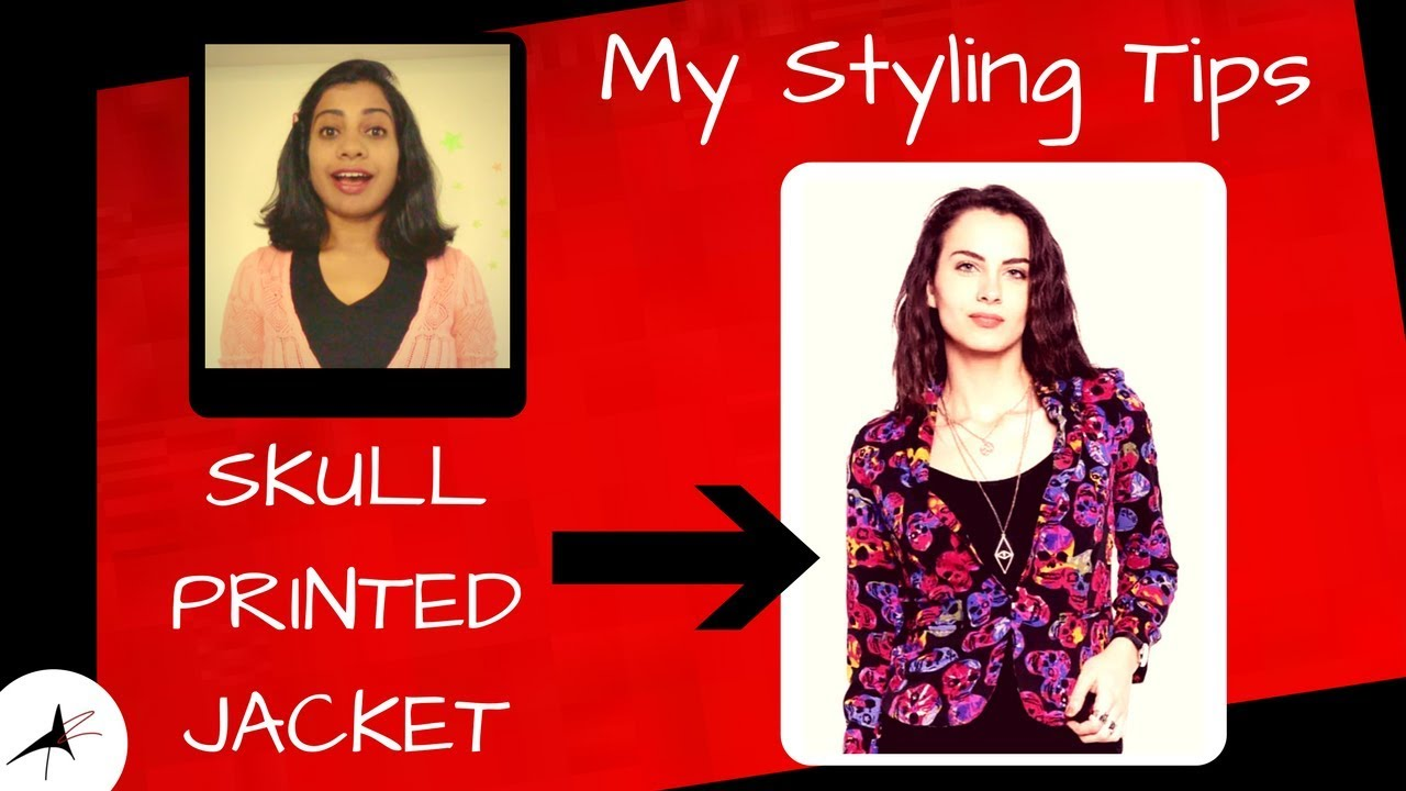 How To Style A Bold Printed Jacket | Arpitharai √
