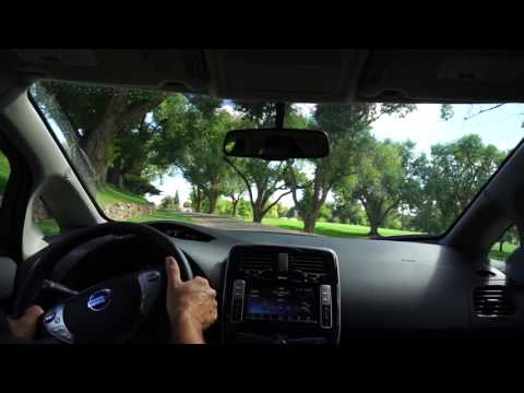 2016 Nissan Leaf SV: A quick 0-60 acceleration measurement