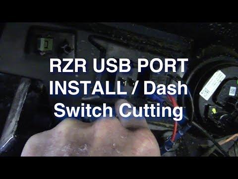 RZR USB Port Dash Switch And Prep For 2018 Riding Season