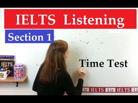 IELTS Listening Practice: Time