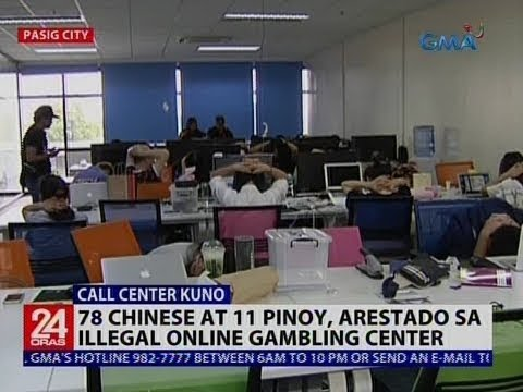 78 Chinese at 11 Pinoy, arestado sa illegal online gambling center