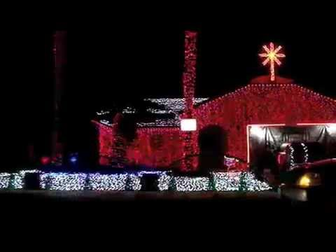 Simmons Family Christmas Lights Show - Cathedral City, CA - Simmons Family Christmas Lights Show - Cathedral City, CA - YouTube