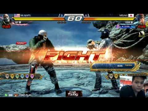 [12.07.16] Offline Deathmatch @ Sugamo Arcade: Mr. Naps (Bryan) vs. Misaki (Josie)