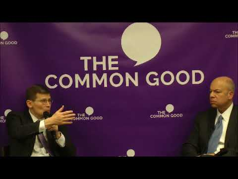 The Common Good: Discussion with Michael Morell moderated by Secretary Jeh Johnson