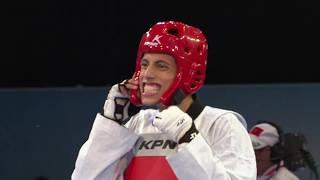 2017 Rabat WT GP  M 58kg Semi final   F ASHOURZA IRI VS C NAVARRO MEX