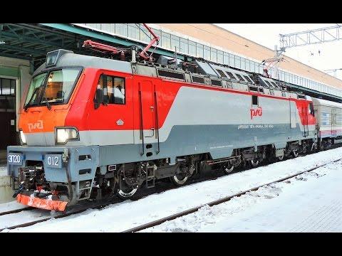 ЭП20-012 поезд Калининград - Москва (Белорусский вокзал)