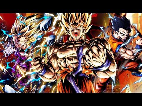 SON FAMILY IS OP!!   New Transforming Goku  LF Gohan  Dragon Ball Legends PVP