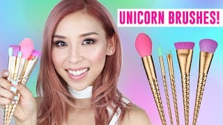 New Unicorn Brushes- TINA TRIES IT