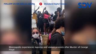 Minneapolis experiences massive and violent protests after death of George Floyd