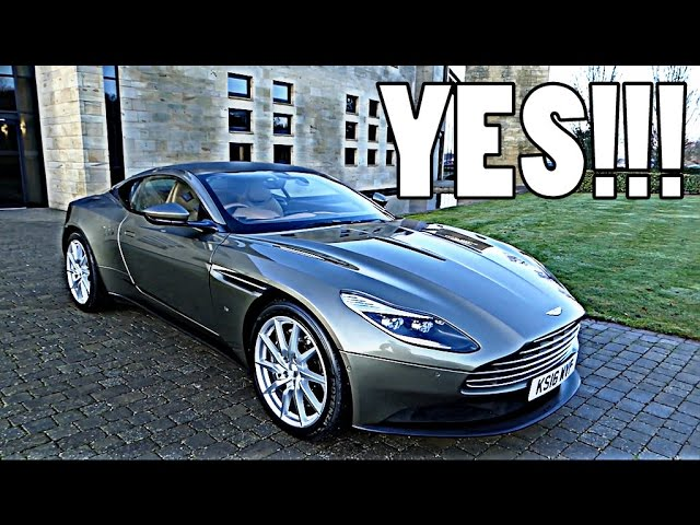 COLLECTING ASTON MARTIN DB11: FIRST IMPRESSIONS!!