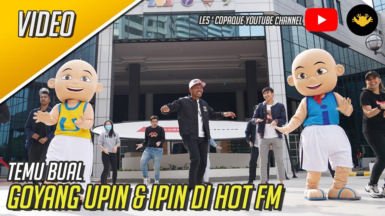 Temu Bual Goyang Upin & Ipin Di Hot FM
