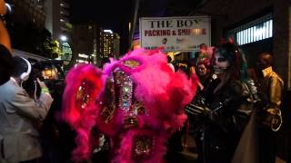 SKINZ N BONEZ  Dancing Man 504 WILD TCHOUPITOULAS Anne Rice Ball NOLA