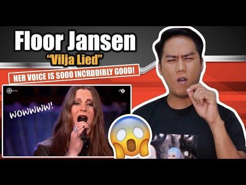 Floor Jansen - Vilja Lied | Beste Zangers 2019 | REACTION