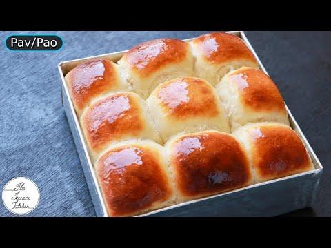 Download Super Soft Pav Recipe | Ladi Pav Recipe | Pav Bread with Tips & Tricks ~ The Terrace Kitchen