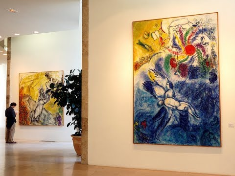 Places to see in ( Nice - France ) Musee National Marc Chagall