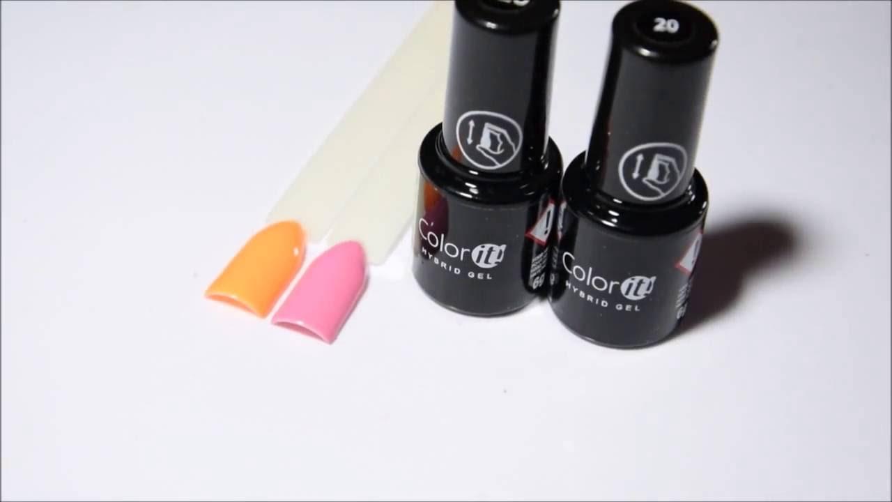 NOWOŚĆ, Silcare - hybryda Color It Premium nr.20 i 320.