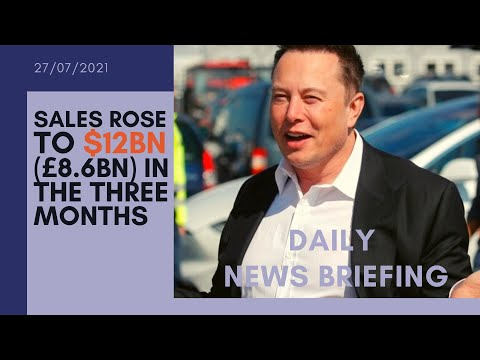 TESLA Stock - Profit surge driven by record car deliveries - DAILY NEWS BRIEFING