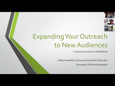 Looking for Something New? Expanding Your Outreach to New Audiences