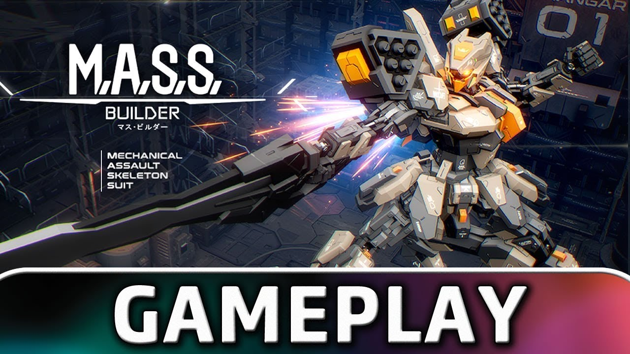 M.A.S.S. Builder | 10 Minutes of Gameplay (PC/Switch)