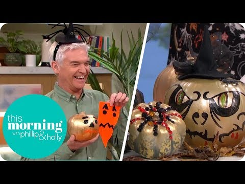 How to Make Your Own Spooky Creations This Halloween | This Morning