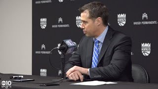 Kings coach Dave Joerger on win over Pistons, performance from Harry Giles