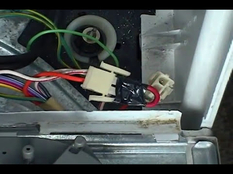 lid switch bypassing GE    washer     YouTube