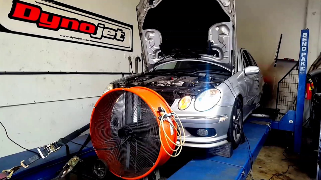 E55 AMG W211 Makes 450whp and 516rwtq With Just These Simple Mods!