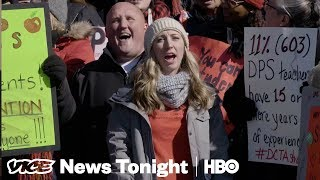 Denver's Public School Teachers Are Revolting Against Merit Pay (HBO)