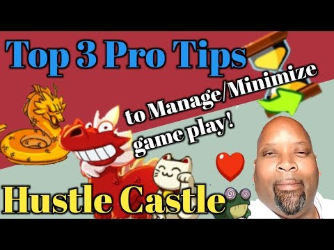 Hustle Castle - Top 3 Pro Tips To Manage/minimize Game Play | Bonus Hardcore Tip | Book 6-Chp 45 |