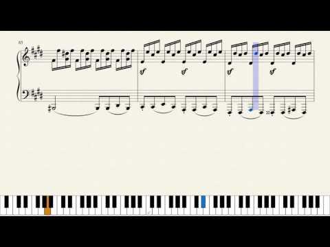 Beethoven, Moonlight Sonata 3rd Movement, Opus 27 No. 2 [Piano Tutorial]