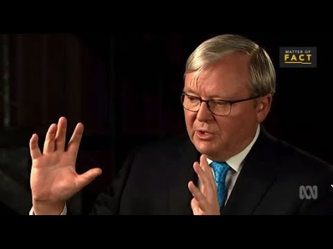 Kevin Rudd warns Malcolm Turnbull over government policy toward China