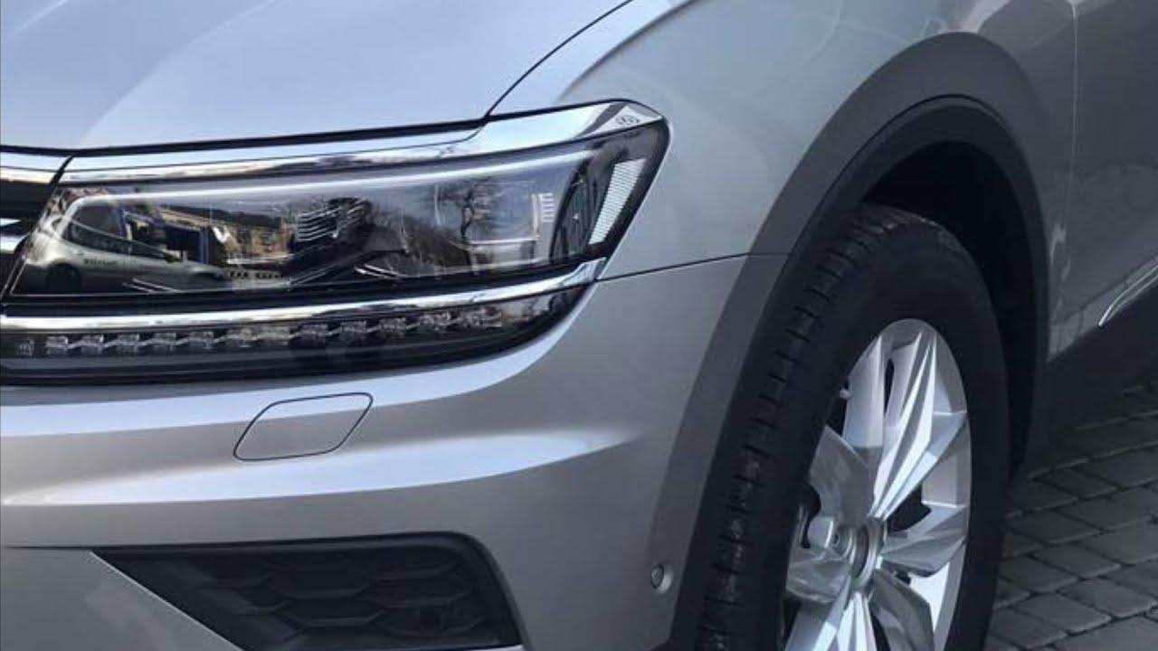 Ретрофит. Установка ТСУ и keyless access в задние двери. VW Tiguan 2.0TDI DSG7 2018.