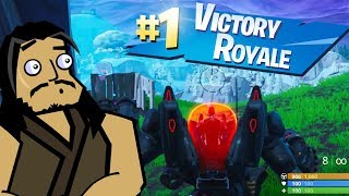 BRUTES & DRIFTBOARDS in Salty Springs | Roach Plays Fortnite (The Squad)