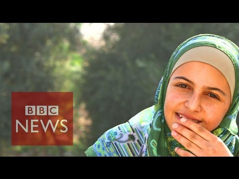 Meet The 'Malala' Of Syria - BBC News