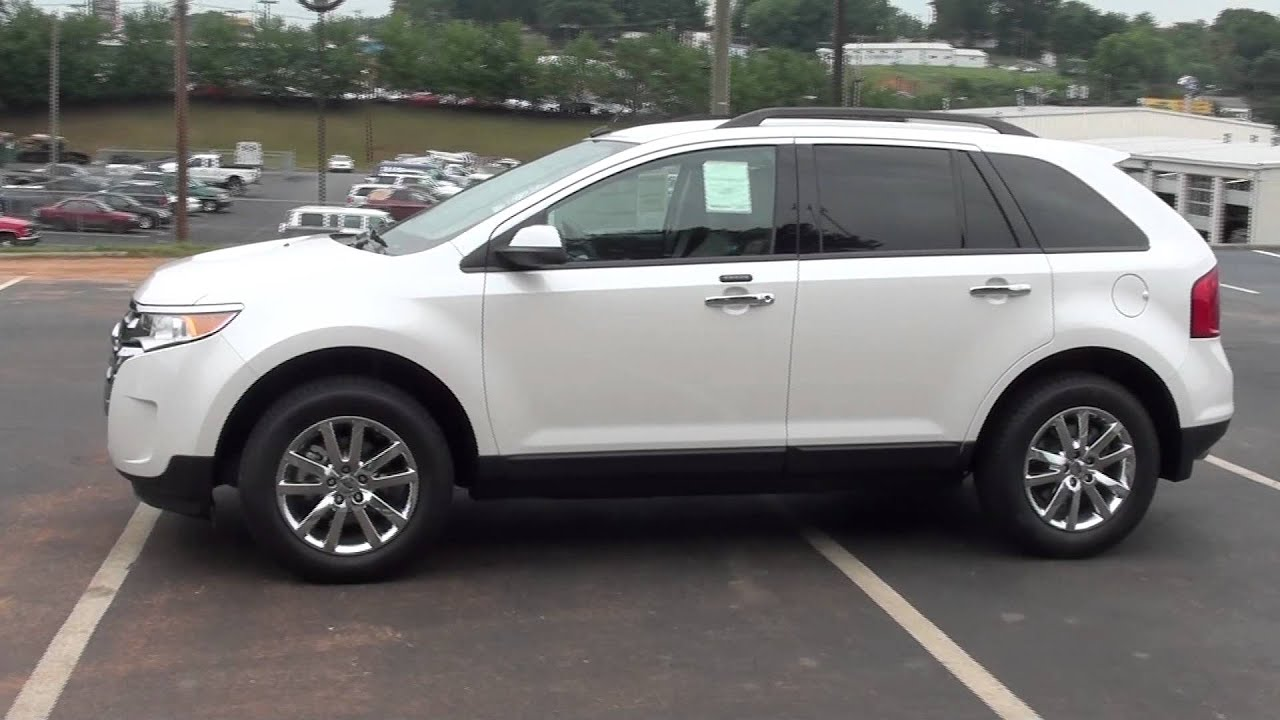 For Sale New  Ford Edge Sel Leather Family Fuel Economy Stk  Youtube